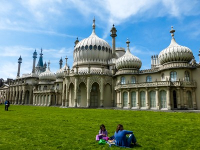 The rather surprising Royal Pavilion