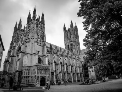 An impressive looking Canterbury Cathedral