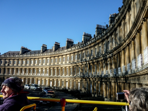 Bath - My first experience with the Hop on Hop off buses