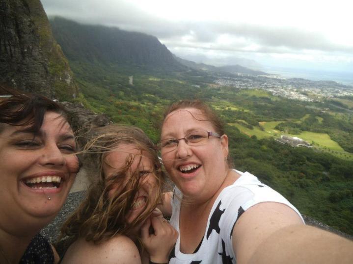 Windswept in Hawaii