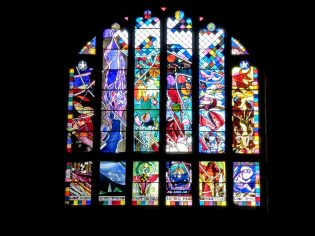 Cafe stained glass - simply amazing!