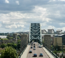 Fun Fact: This Newcastle bridge is a smaller version of the Sydney Harbour Bridge #truestory