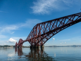 The mighty Forth Rail Bridge