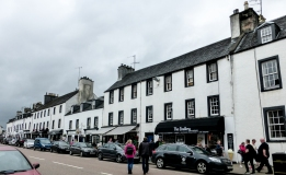 The town of Inveraray - so cute!