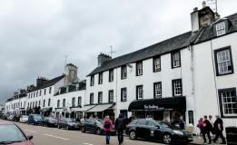 The town of Inveraray - so cute!