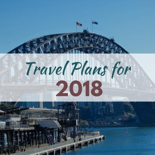 2018 travel