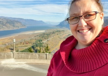It was very windy up here - Columbia River Gorge